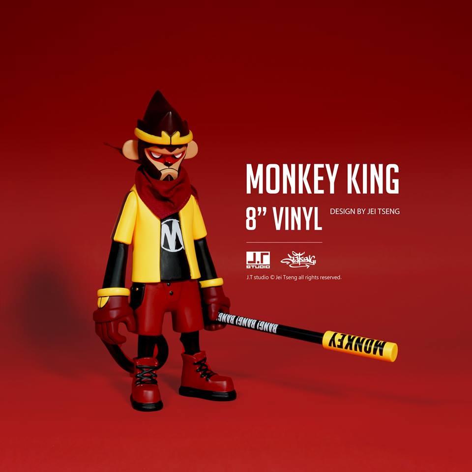 MONKEY KING Vinyl from J.T Studio for April 13 Online Pre-orders