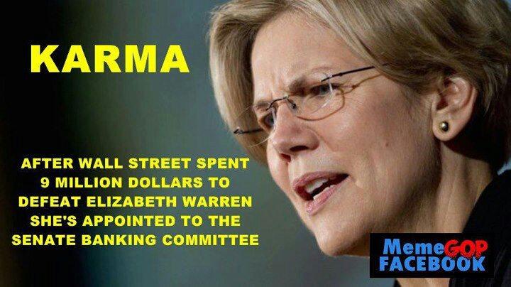 Wall Street Wanted A Piece Of Elizabeth Warren Well They Got One