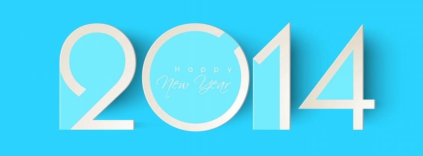 Ảnh bìa Facebook Cover chúc mừng năm mới 2014