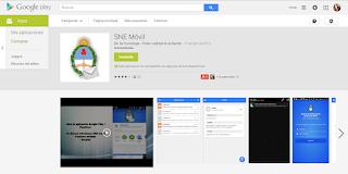 Apps SNE Móvil - Aplicación del PJN