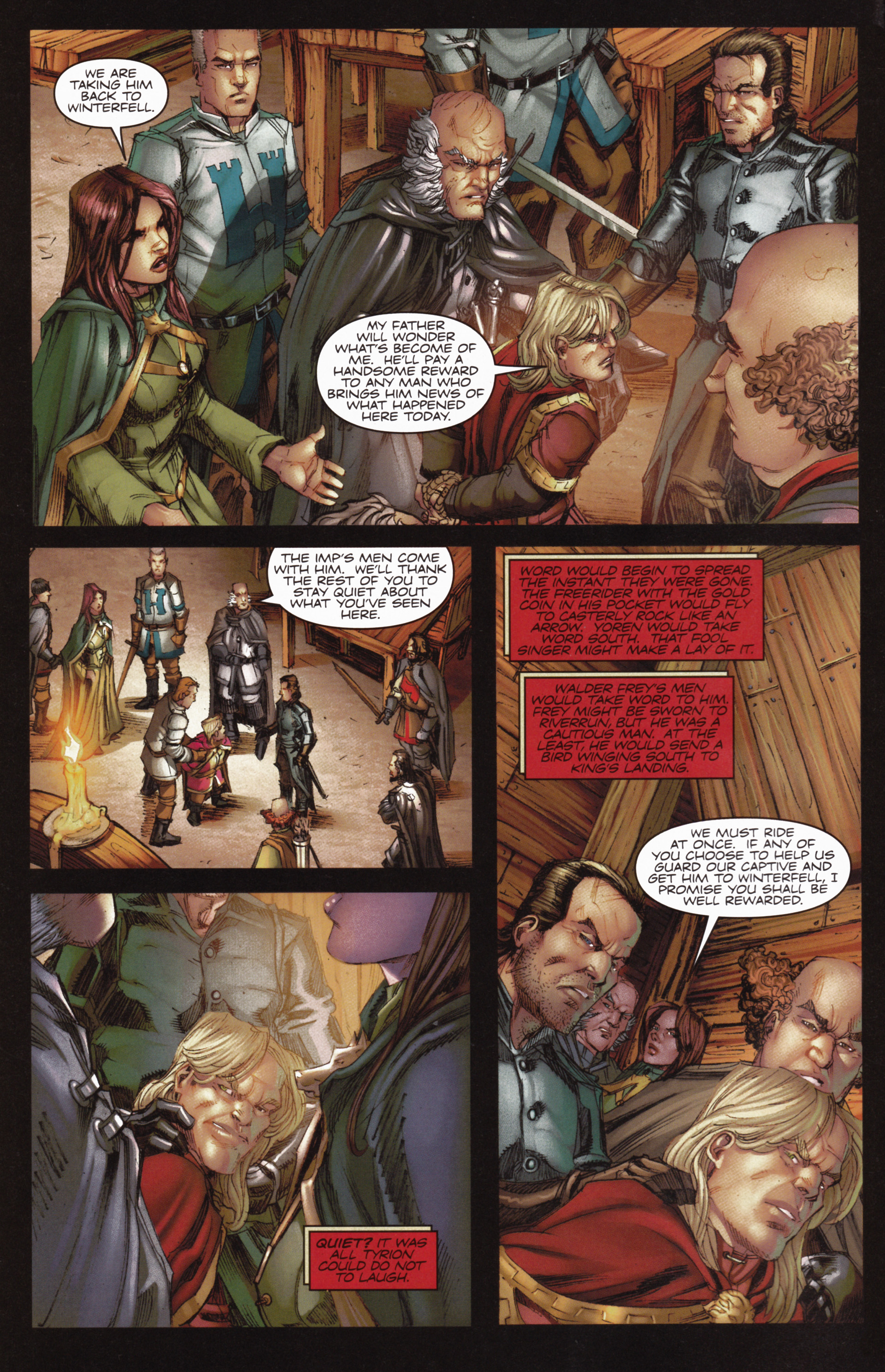 Read online A Game Of Thrones comic -  Issue #10 - 4