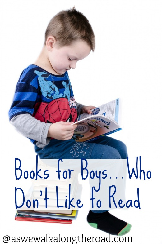Book suggestions for boys who don't like reading