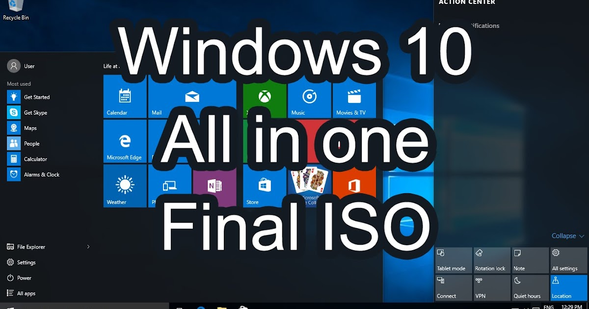 windows 10 all in one iso free download 64 bit
