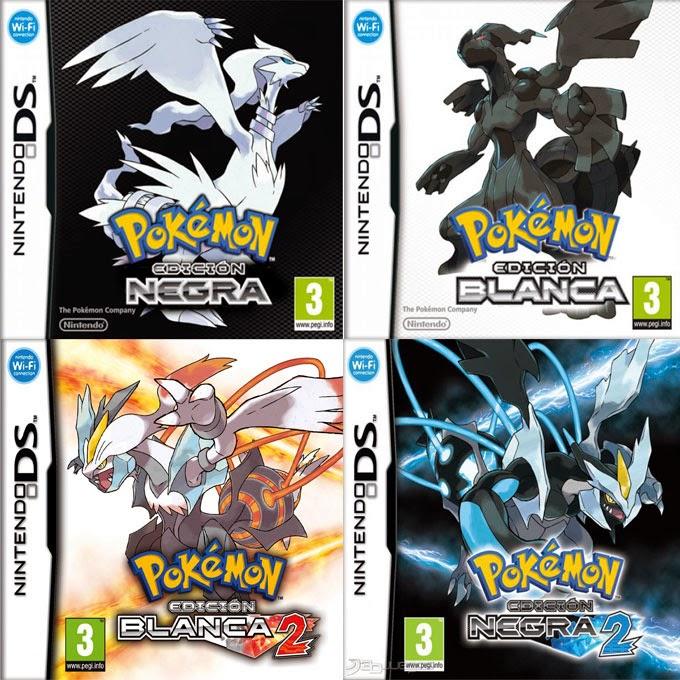 descargar pokemon blanco y negro