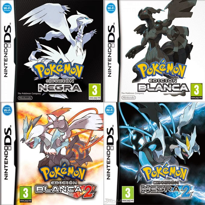 DESCARGAR POKEMON BLANCO, NEGRO, BLANCO 2 Y NEGRO 2
