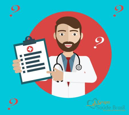 Perguntas frequentes sobre planos de saúde.