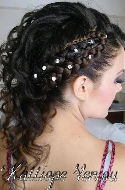 amazing wedding hairstyles kalliope