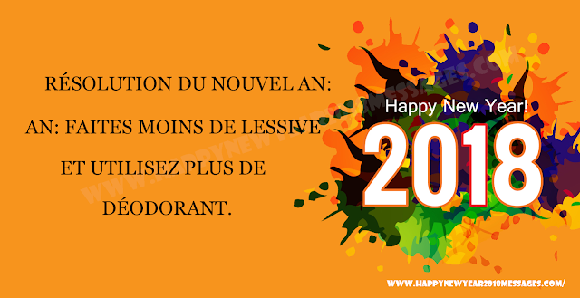 new year 2018 french