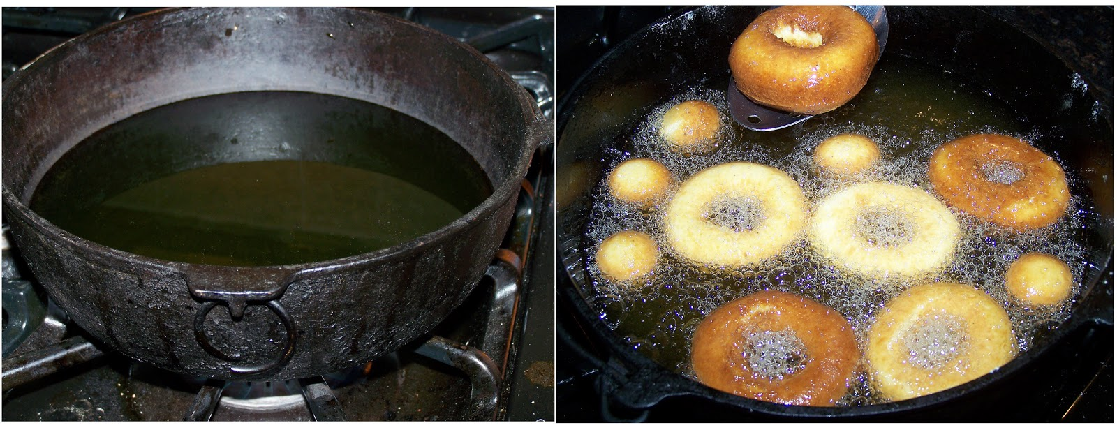 Homemade Fried Donuts