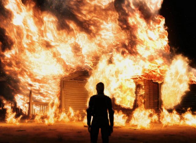 Resultado de imagen para Casa en llamas