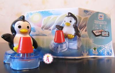 Пингвин с печатью в форме пингвина Kinder Maxi