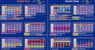 Kalender Pendidikan SD, SMP, SMA Tahun Ajaran 2018/2019
