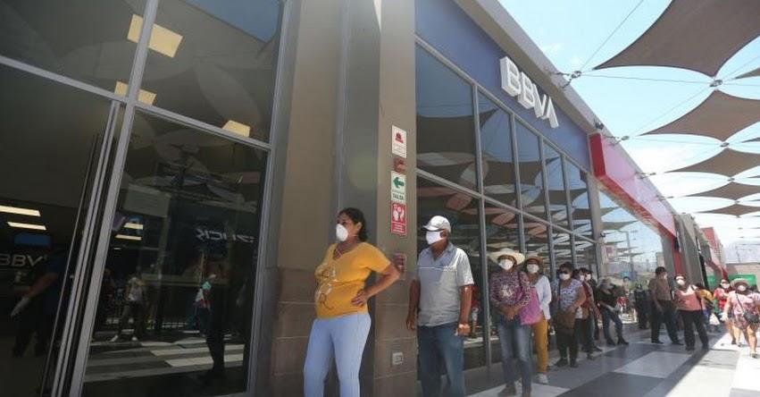 En estos bancos puedes cobrar tu bono de S/ 380 por aislamiento social