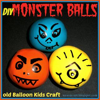 MonsterBalls wesens-art.blogspot.com