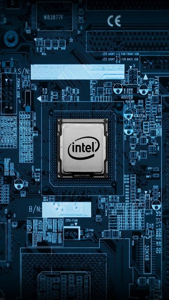 Intel CPU Motherboard Internals  Galaxy Note HD Wallpaper