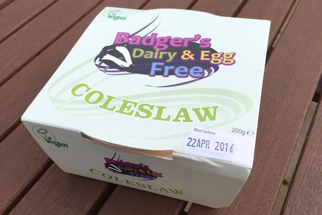 Badger's Dairy & Egg Free Coleslaw