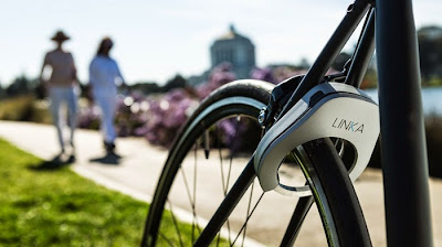 Linka smart bike lock