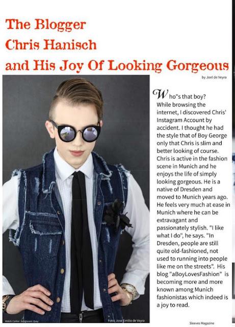 2 chris hanisch aboylovesfashion sleeves magazine itboy interview stylist fashionblogger germany munich