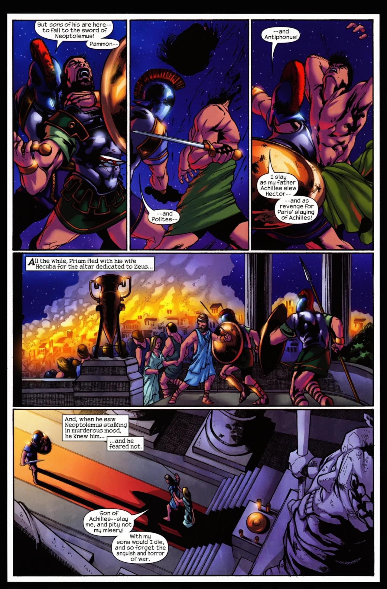 Read online Trojan War comic -  Issue #5 - 11
