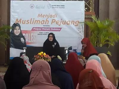 Peggy Melati Sukma: Muslimah Harus Punya Mental Pejuang