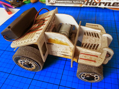 Interplay Build your own electric stunt buggy kit