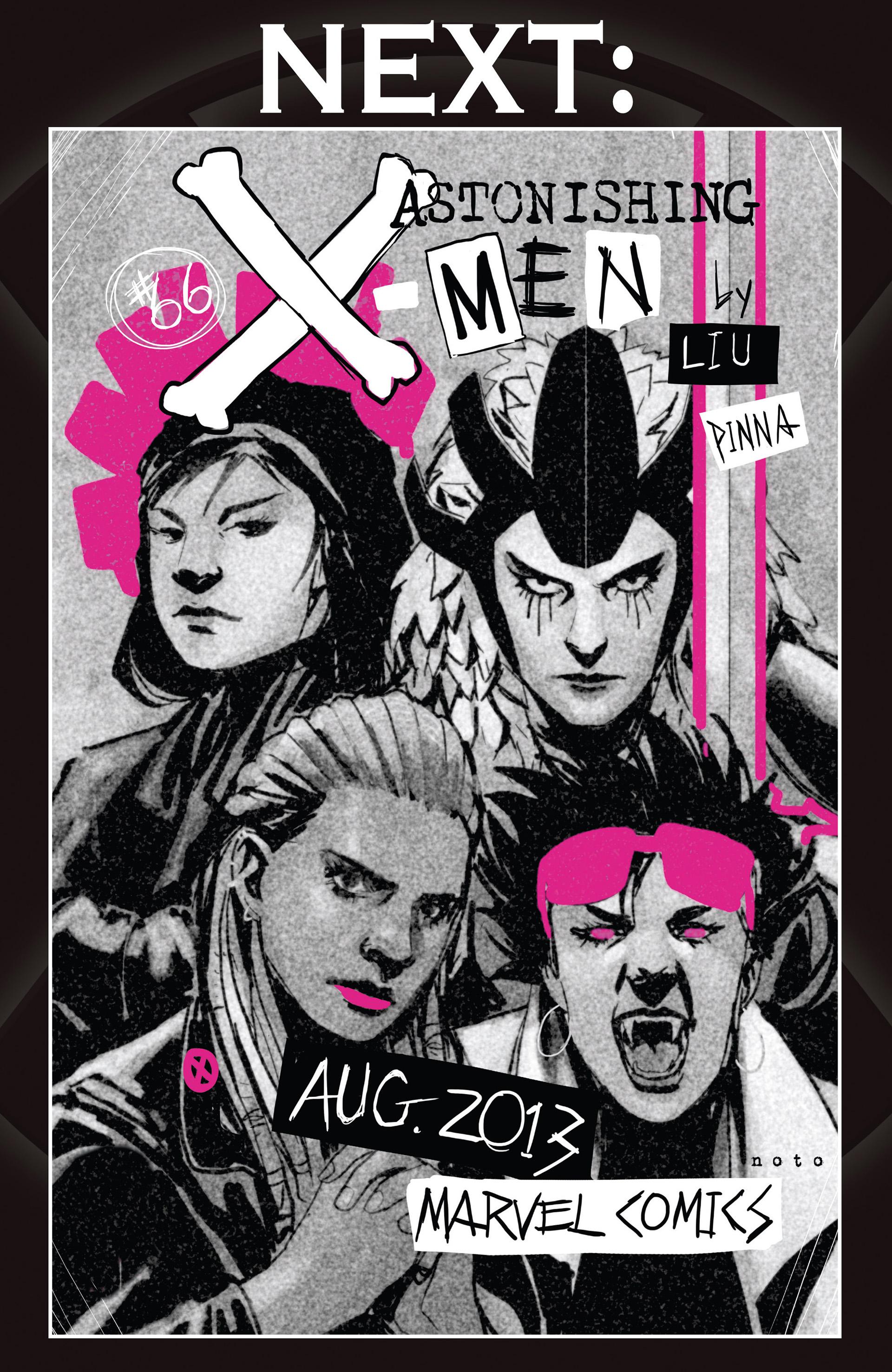 Read online Astonishing X-Men (2004) comic -  Issue #65 - 23