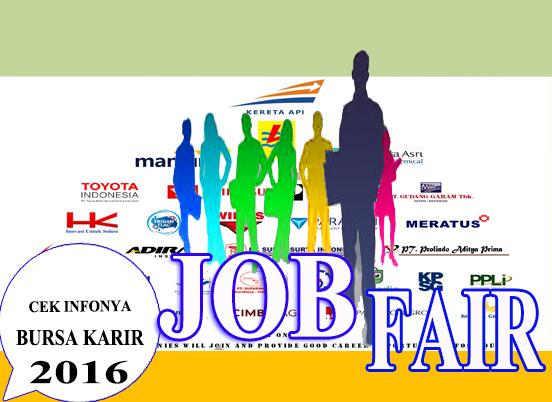 Lowongan Kerja Terbaru -  Jadwal dan daftar lengkap Job Fair di tahun 2016