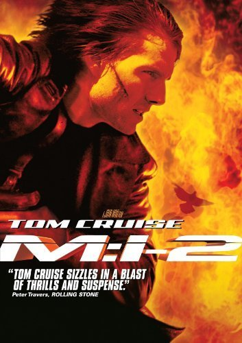 Poster Of Mission Impossible 2 (2000) 720p Hindi BRRip Dual Audio Full Movie