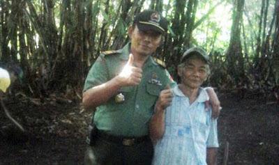 Dengan Sisa Tenaga, Kakek Narto Ingin Berknstribusi di TMMD Banyumas