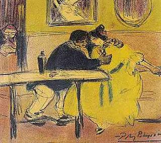 Picasso, El diván