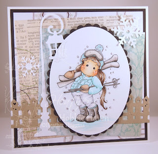 Heather's Hobbie Haven - Tilda in the Mountains Card Kit