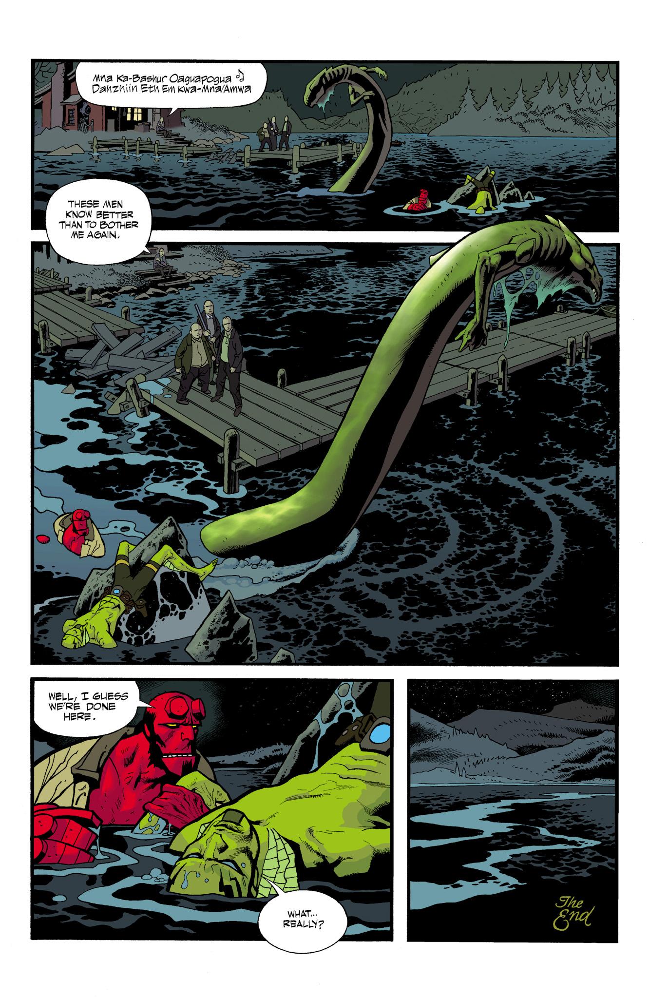 Read online Abe Sapien comic -  Issue #23 - 24