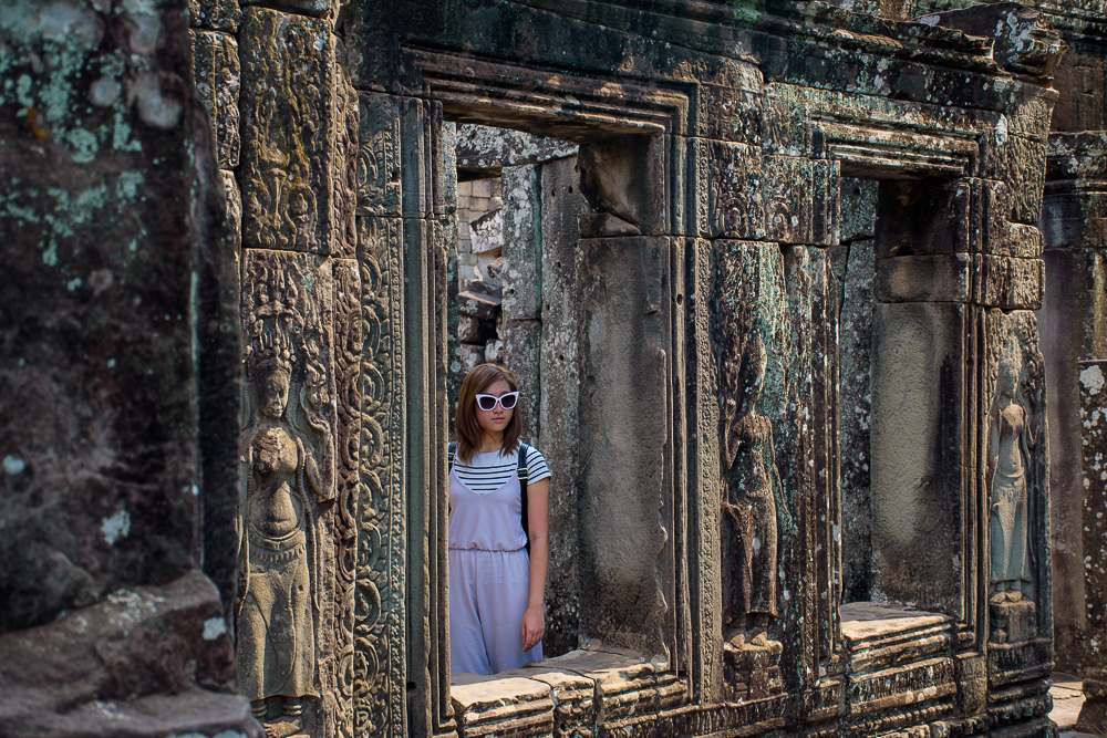 bayon temple, siem reap cambodia
