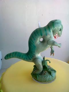 Dinossauro de biscuit