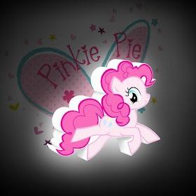 Pinkie Pie Wall Light