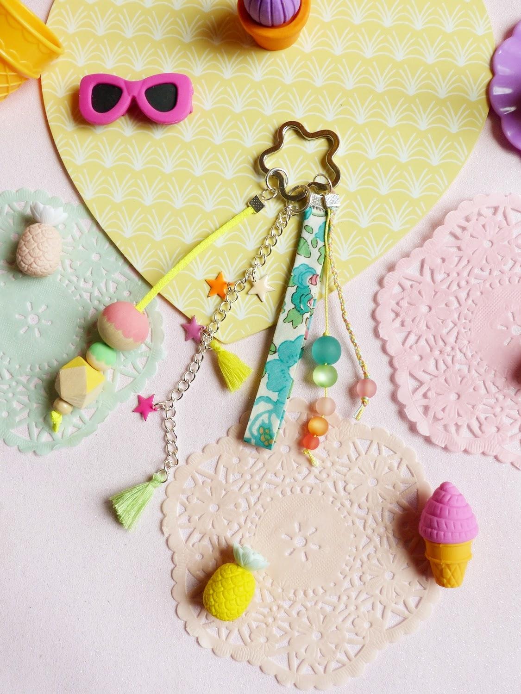 La Perle Des Loisirs Le Blog Diy 38 Porte Cl S Color By Une Fille Frange