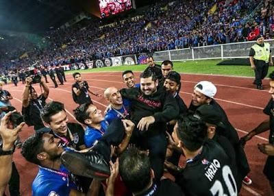 JDT Juara Piala Malaysia 2017