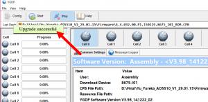 Cara Flash CoolPad Note 3s 100% Berhasil via YGDP Flash Tool