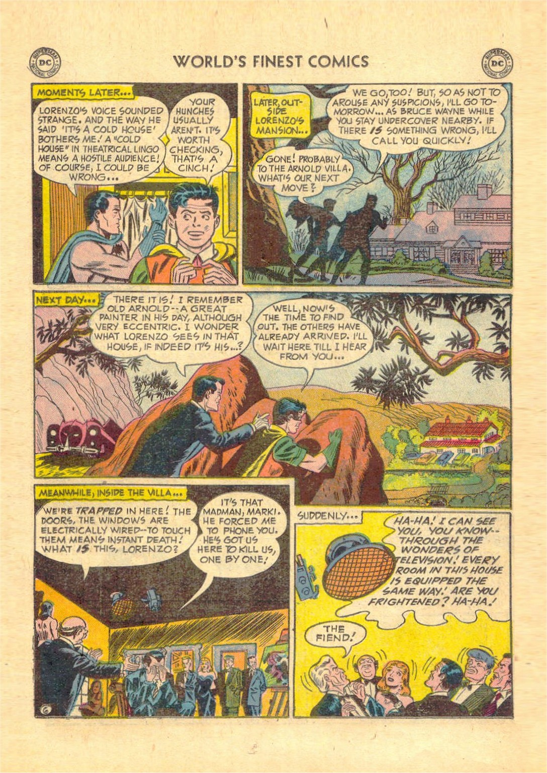 Read online World's Finest Comics comic -  Issue #52 - 68