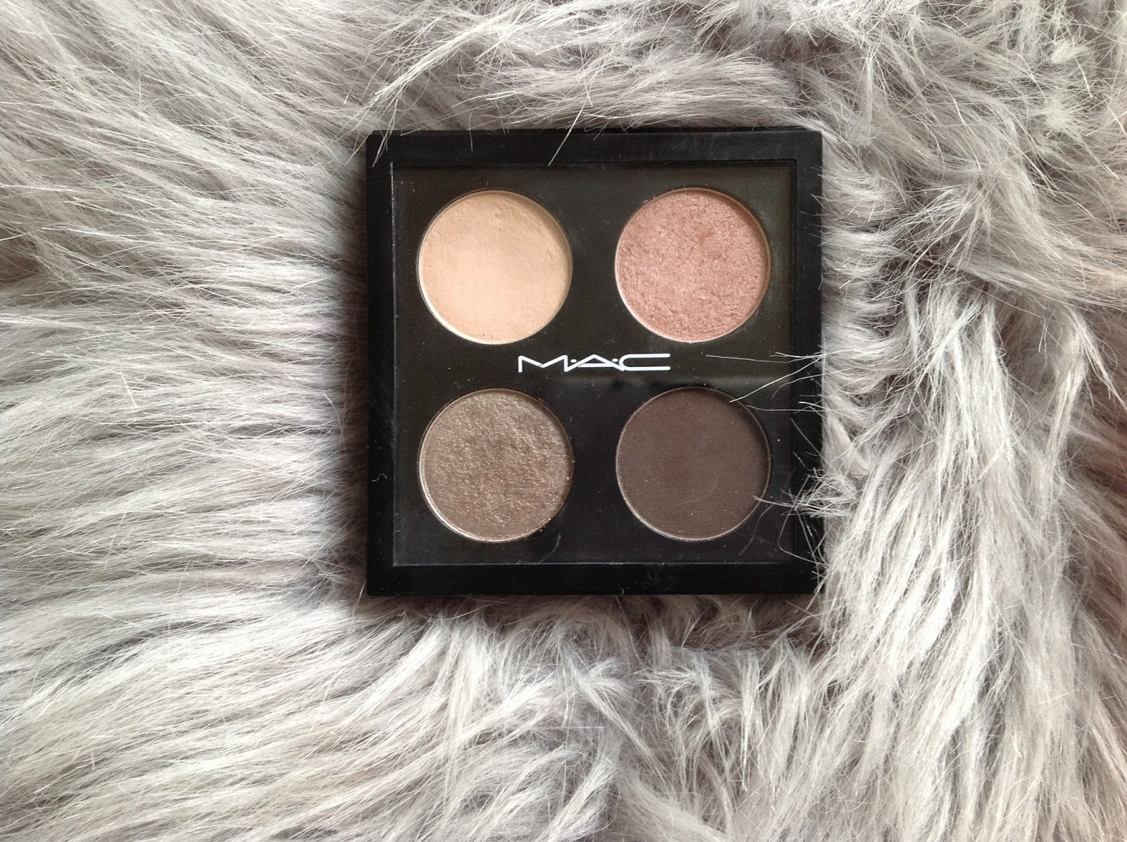 mac eyeshadow quad showstopper review