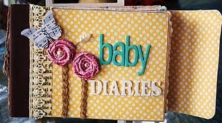Crazy About Mini Albums Baby Diaries Mini Album