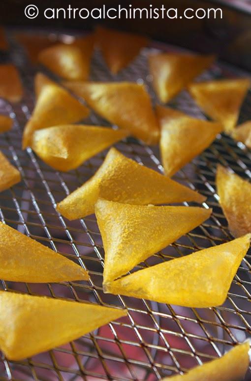 Chips di Polenta NON Fritte