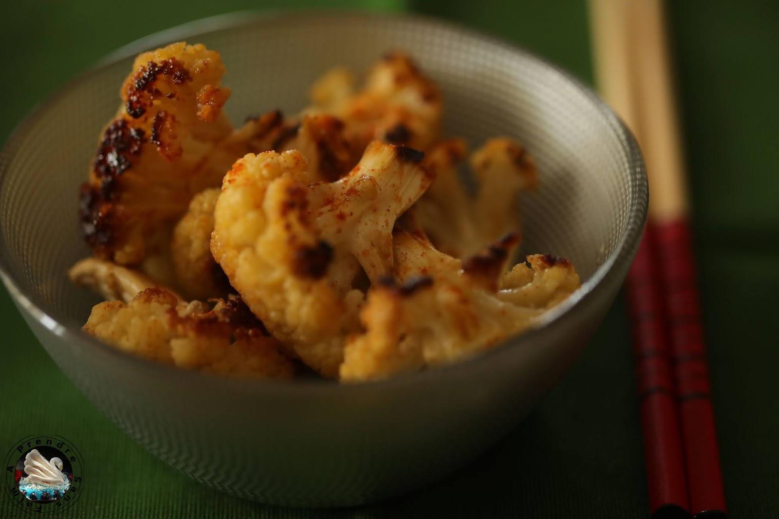 Chou-fleur rôti au paprika