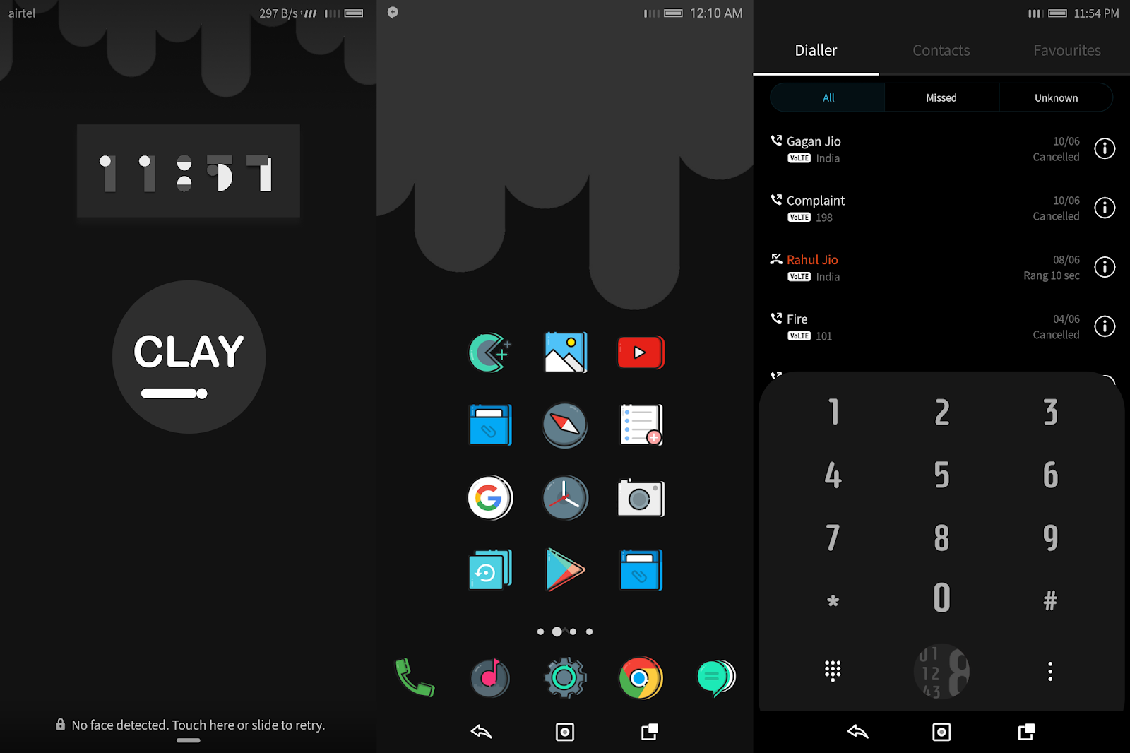 Clay Dark Theme for EMUI 4 - HUAWEI THEMES