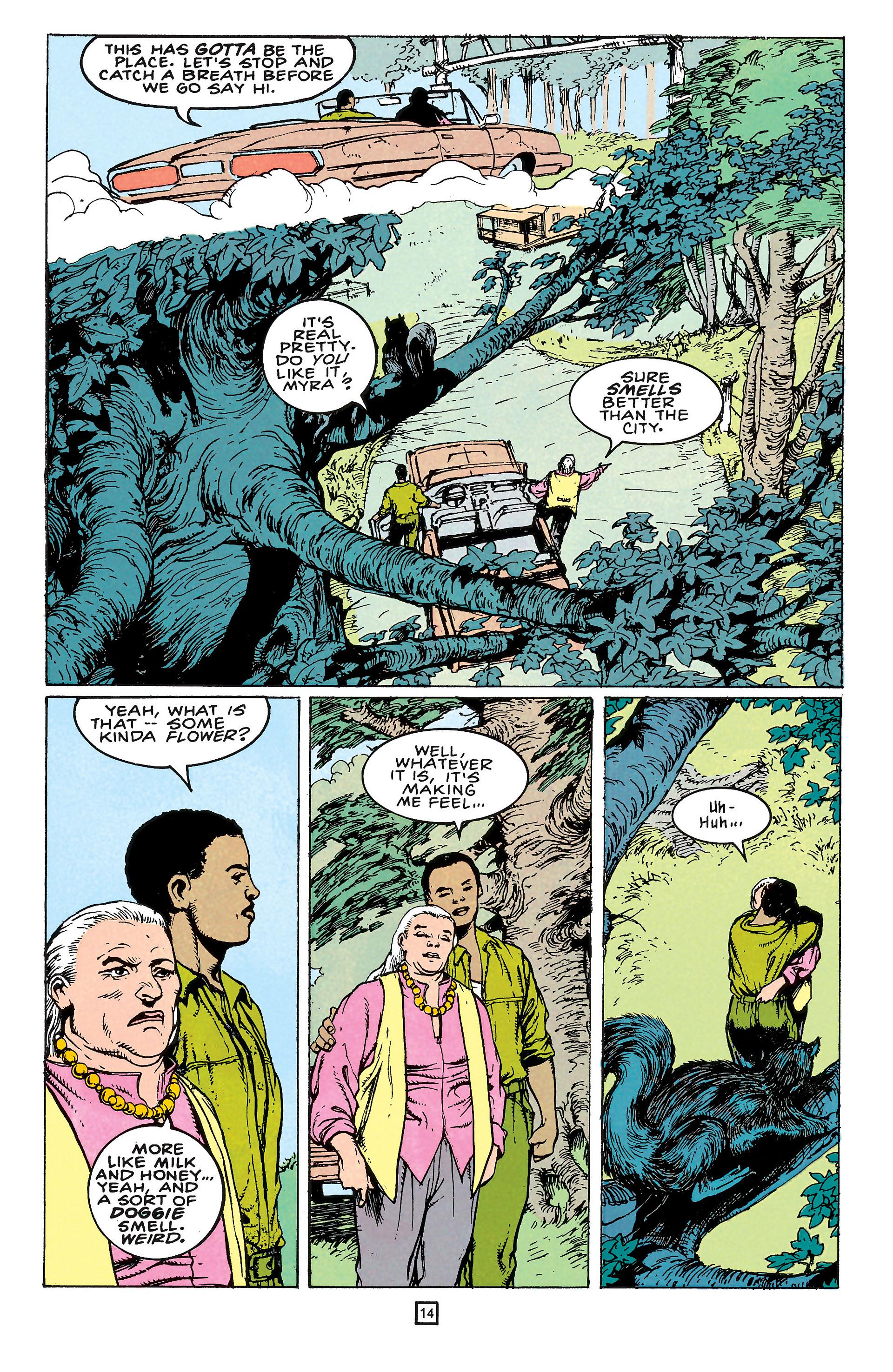 Read online Animal Man (1988) comic -  Issue #65 - 14