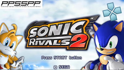 Download Sonic Rivals 2 ISO/CSO PSP PPSSPP For Android Ukuran Kecil