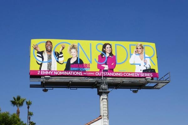 Consider Kimmy Schmidt 2018 Emmy billboard
