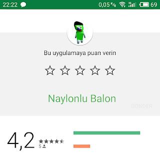 Play Store'da Adil Puan Verin
