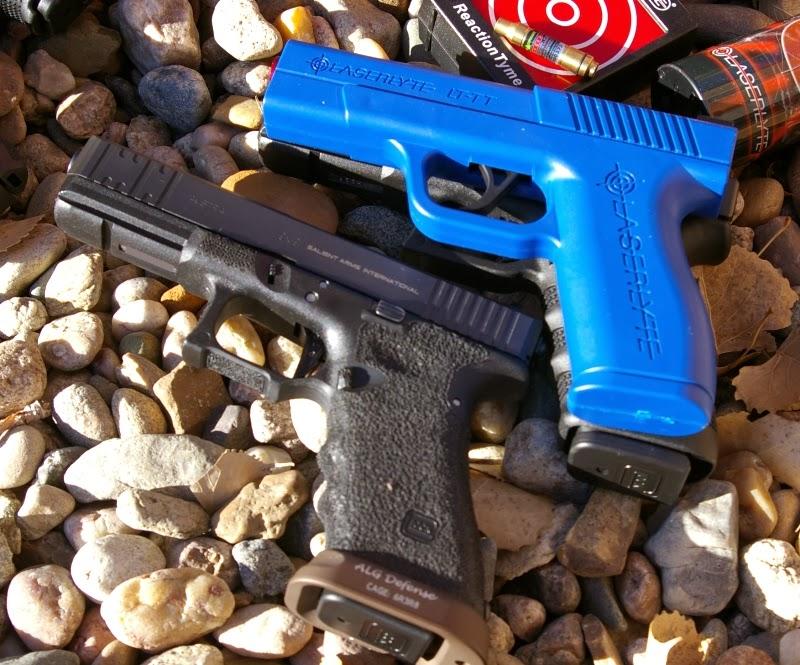 LaserLyte Training Pistols & Target Plinking Cans