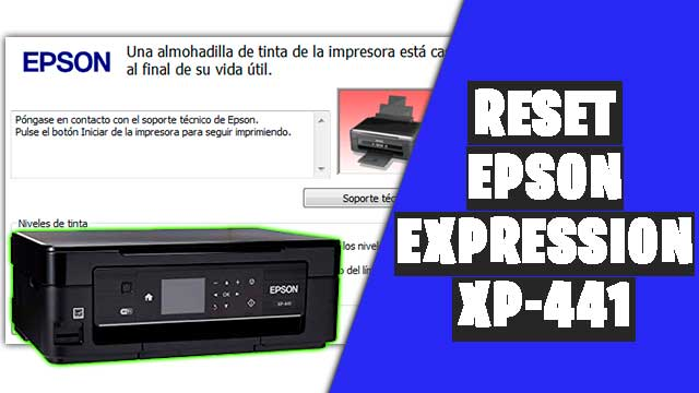 resetear impresora EPSON Expression XP-441